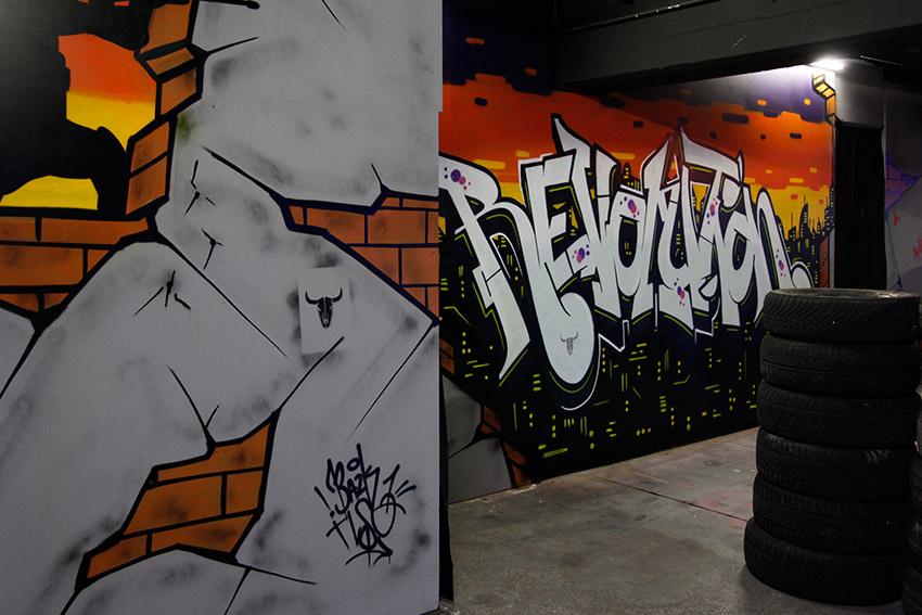 Endzeit-Grafitti